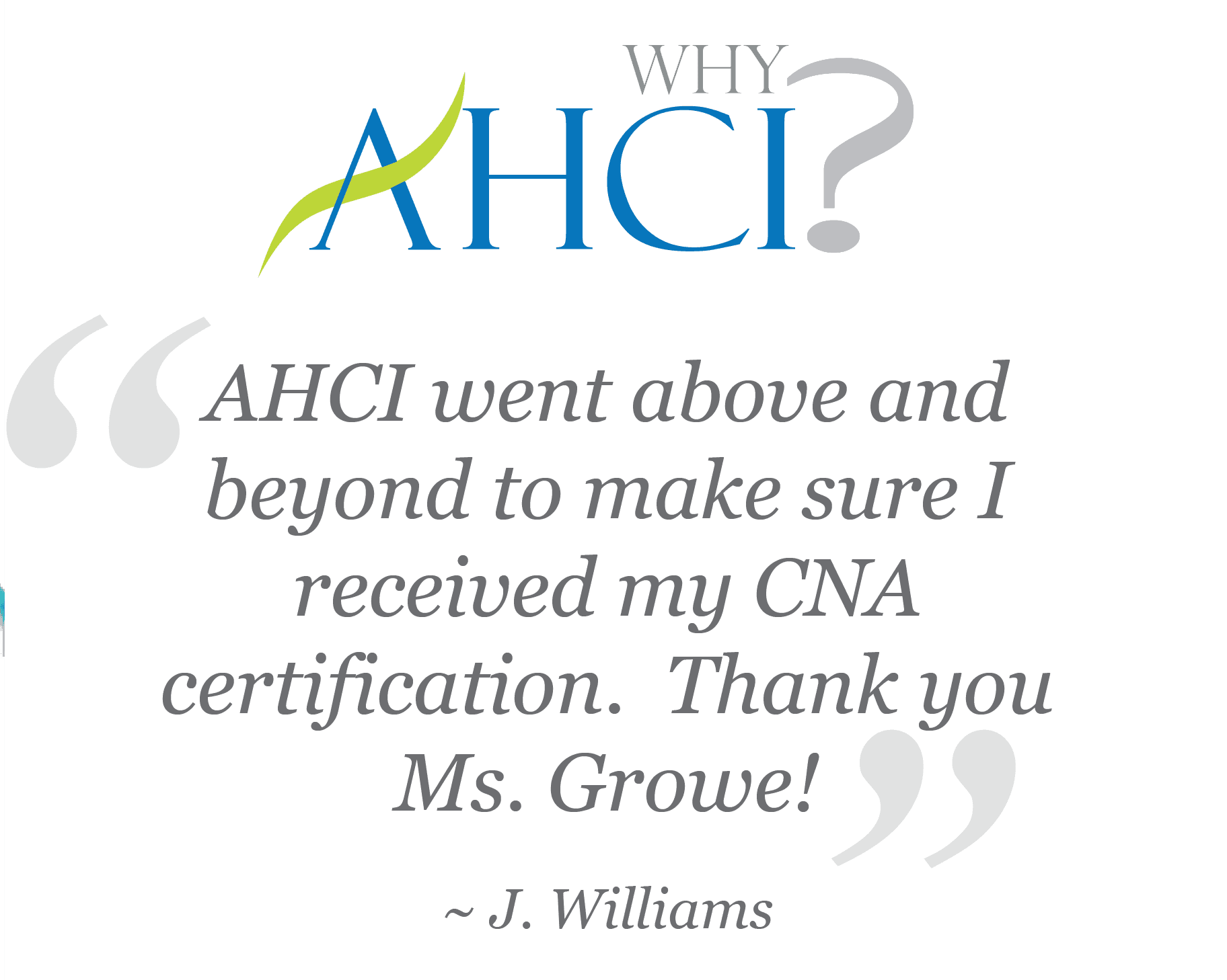Ahci The Best Cna Program In Baton Rouge