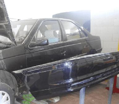 riparazione motore, lampade per auto, pedaliere