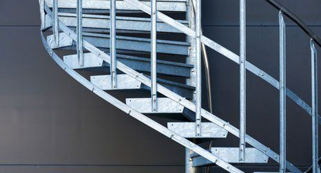 iron staircases