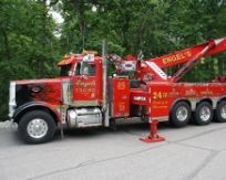Tow truck used for automobile repair services in Cincinnati, OH