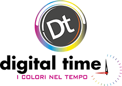 Digital Time i colori del tempo Logo