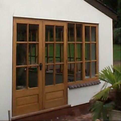 Timber door and window frames