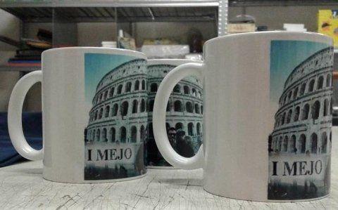 stampa digitale su tazze da colazione