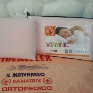 MATERASSO IN MEMORY FOAM CON VITAMINA C