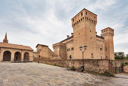 Vista del Castello di Vignola