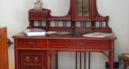 Rarissima scrivania Thonet Decorazione Liberty