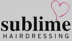 sublime HAIRDRESSING logo