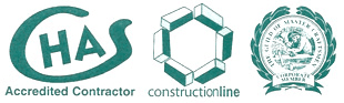 CHAS Constructionline logos