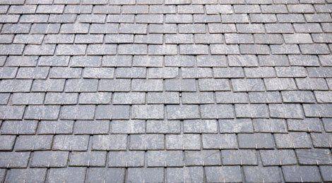 Grey slate roof