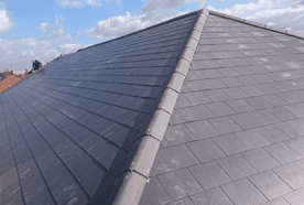 A grey roof