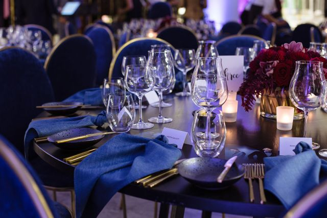 LUXURY LAUNCH EVENT - DINNER FOR 50