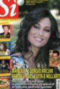 copertina rivista sí arcuri