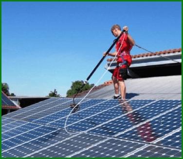 lavaggio impianti solari