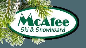McAfee Ski Logo