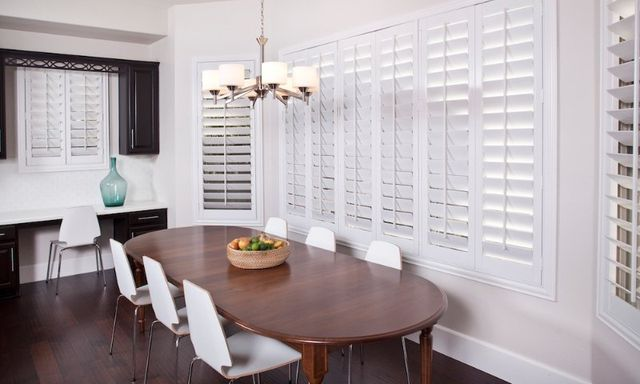 White Shutters - Window Coverings