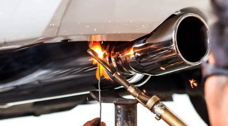 Car exhaust system replacement