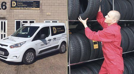 Tyre fitting for all vehicles