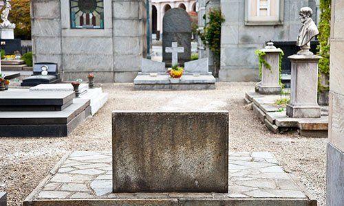 Vista cimitero monumentale
