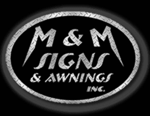 M Signs Awnings Inc Logo