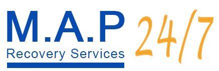 M.A.P 24/7 logo