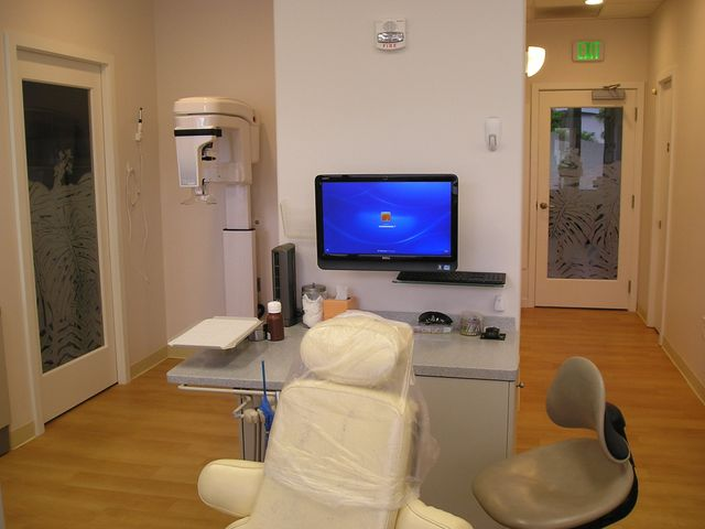 Our modern examination room