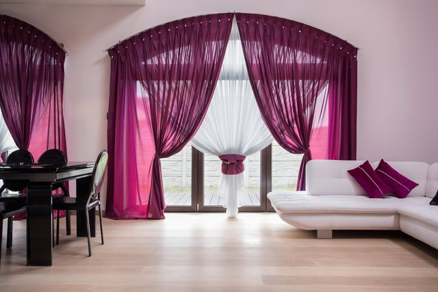 Modern designer curtains