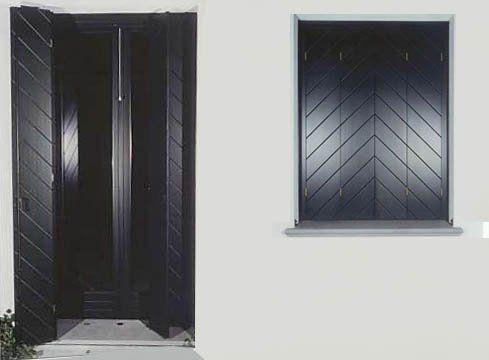 porte da esterno ed oscuranti