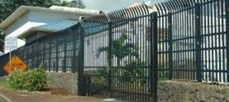 Security gate for house installed by experts in Waipahu, HI