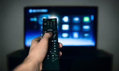 Installation of TV
