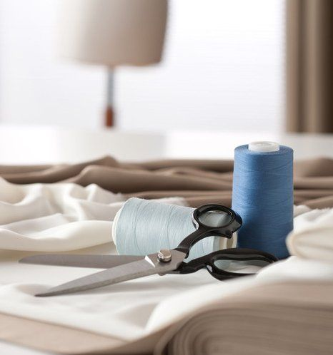 cloth and scissors