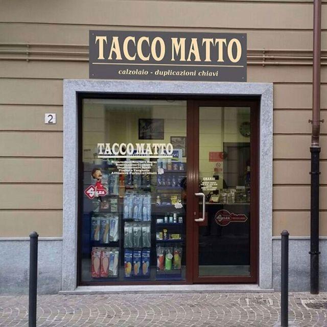 Esterno del calzolaio - duplicazioni chiavi Tacco Matto a Ciriè, in provincia di Torino