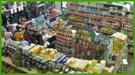 prodotti agricoltura all'interno di un negozio