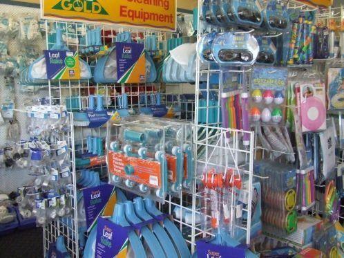 kewba pools maintenance and service shop inside