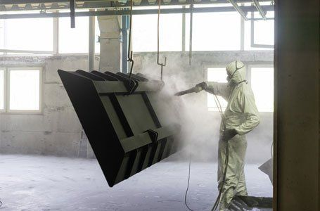 surface being prepared