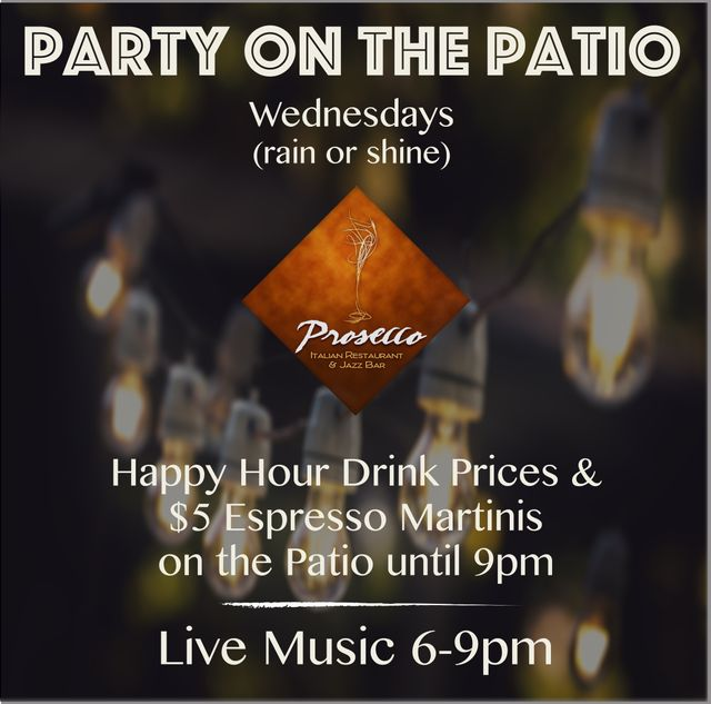 Enjoy Our Happy Hour Drink Specials!