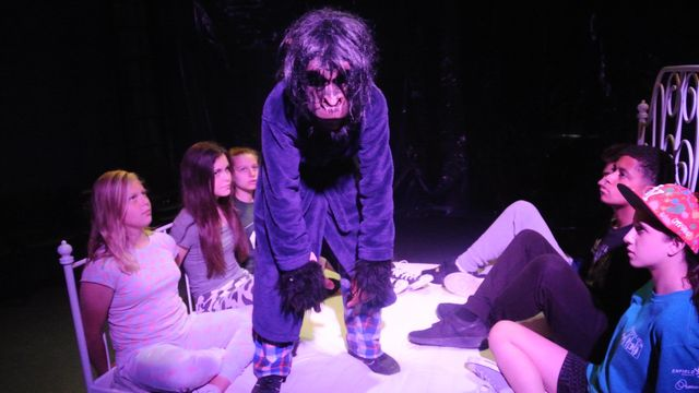 Scary Play performance Bodens Performing Arts