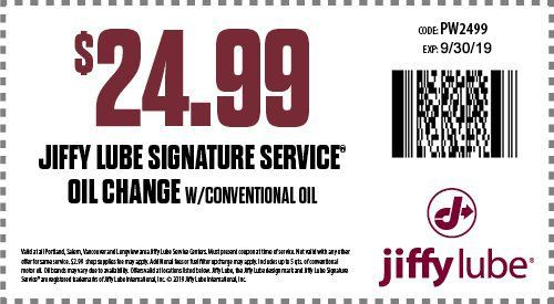 Jiffy Lube Oil Change >> Oregon Jiffy Lube Oil Change Coupons Automotive Maintenance