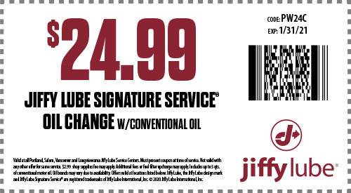 Oil Change Coupons >> Oregon Jiffy Lube Oil Change Coupons Automotive Maintenance