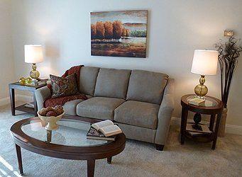 Senior Apartment Living Room Coburg Village