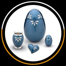 Beautifully crafted urns