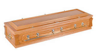Rectangle shape coffin