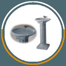 Sanctuary birdbath