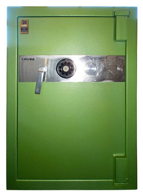 Askwith Safe Company chubb canberra size 3 2nd hand green safe