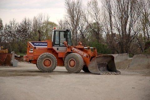 scavo movimento terra