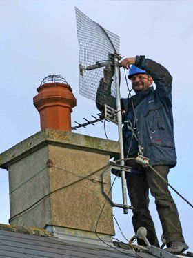 Aerial repairs - Trowbridge, Wales - Able Aerials - Aerial installation