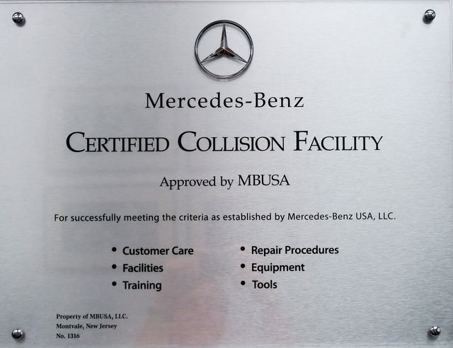 Certified Collision Facility