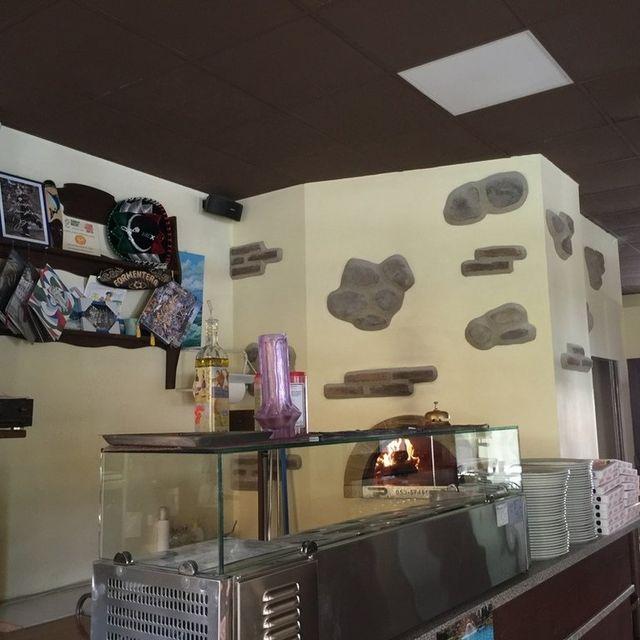 forno di una pizzeria