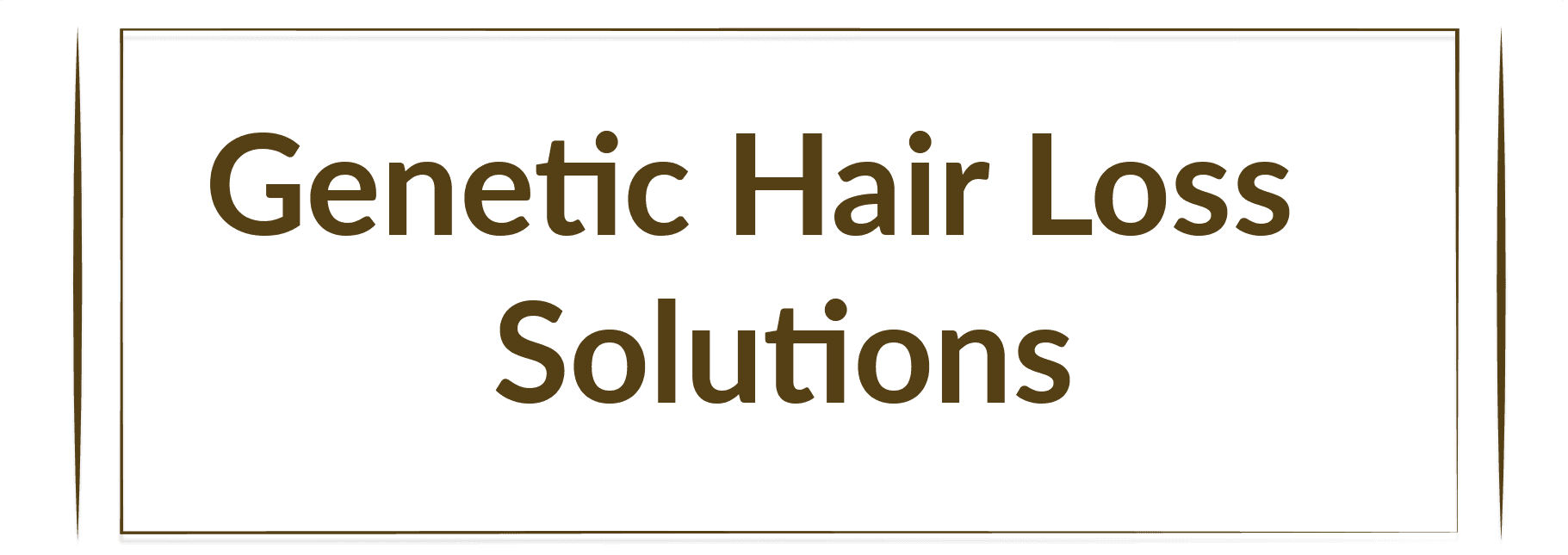 Genetic Hair Loss Solutions