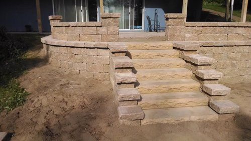 Landscaping services for a garden in Rhinelander, WI