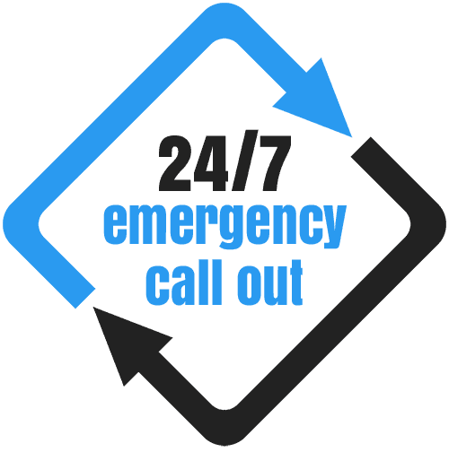 24/7 emergency call-out logo